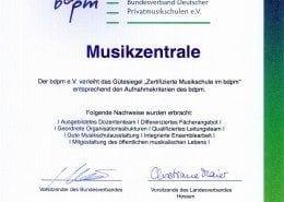 Zertifikat-Musikzentrale-bdpm15102014